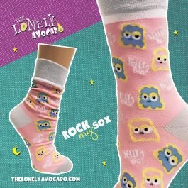 PB&J Crew Socks | Jelly Bro Socks | Rock My Sox | The Lonely Avocado