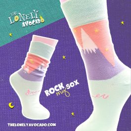 DREAMER  MOUNTAIN SOCKS – ROCK MY SOX