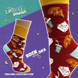 PIZZA PARTY SOCKS – ROCK MY SOX