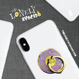Purple Astrology Phone Grip | Phone Holder | Ohh! Ring | The Lonely Avocado