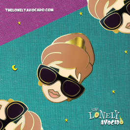 1950s Divas | 50s Iconic Woman | Monroe, Hepburn, Ross | Hollywood Gift | The Lonely Avocado