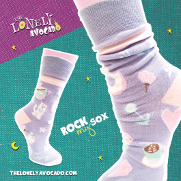 COFFEE CAT SOCKS – ROCK MY SOX