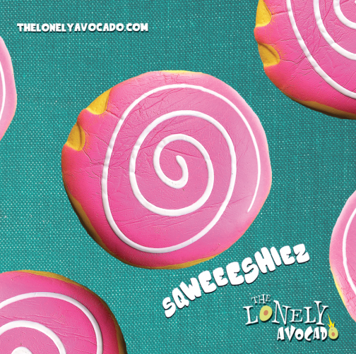 Pink Donut Squish Stress Toy