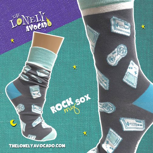 Retro Video Game Socks for Guys