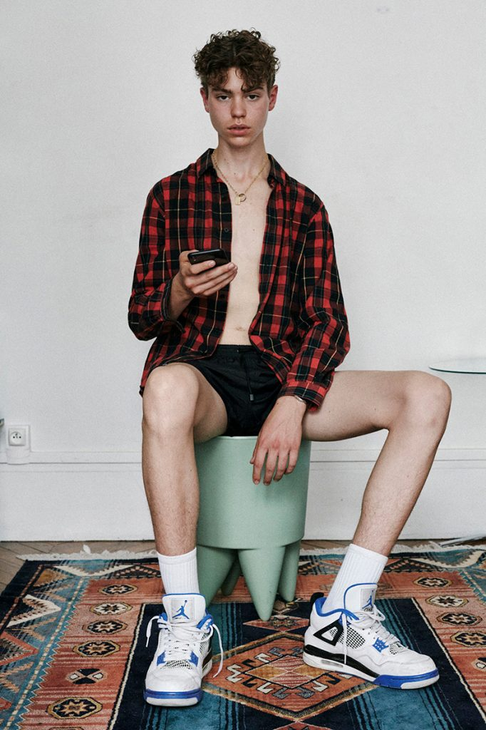 Eliot by Valentino - Shirt Open - 16 Paris - French Love