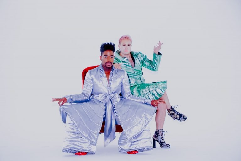 Fab The Duo - It's A Party For Two - Colorful Photo Shoot