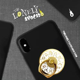 White Astrology Phone Grip | Phone Accessories | Witch Gift | The Lonely Avocado