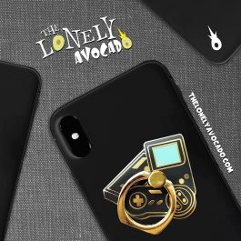 Black Nintendo Controller Phone Ring | Phone Accessories | The Lonely Avocado
