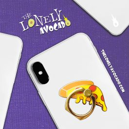 Pizza Phone Ring Grip | Phone Accessories | Gluten Lover | The Lonely Avocado