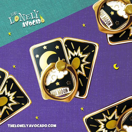 Tarot Card Smart Phone Ring - Witch Phone Accessory