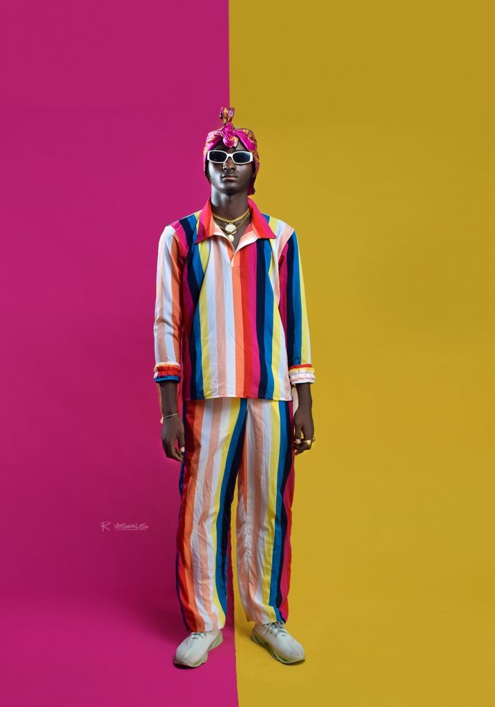 Colorful Stripped Outfit - Iyan Dee - The Lonely Avocado