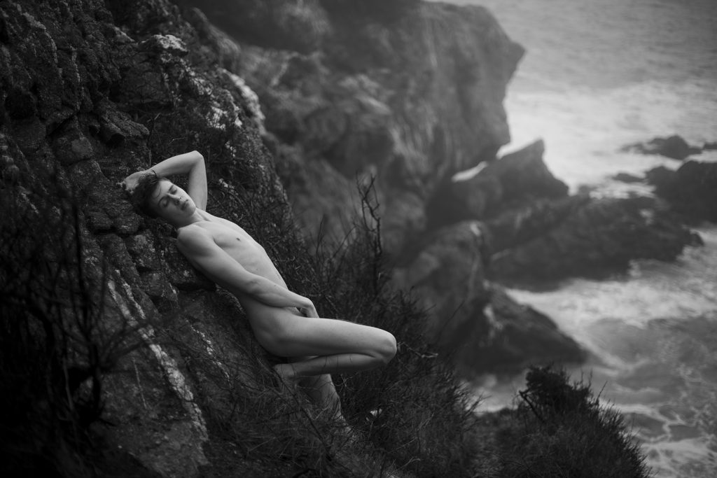 Nude boy on Cliffside - Boys By Ryan - Nude Male - Nature